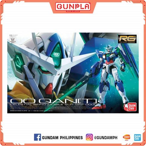Gundam RG 1/144 OO Qan T (GunPla)