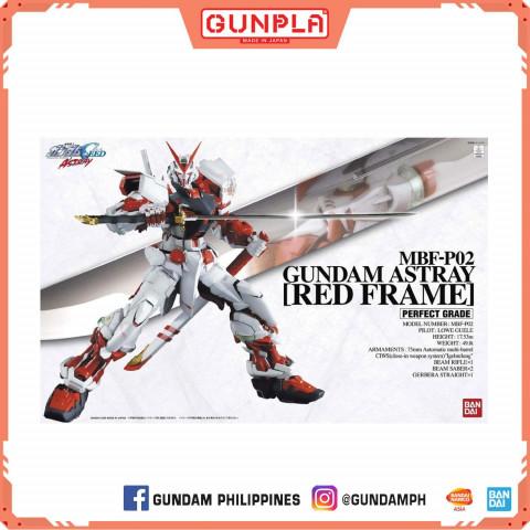 GUNDAM - PG GUNDAM ASTRAY RED FRAME