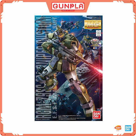 GUNDAM - MG 1/100 RGM-79SC GM SNIPER CUSTOM