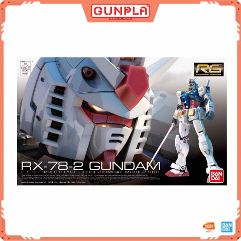 Gundam RG 1/144 RX-78-2 Gundam (GunPla)