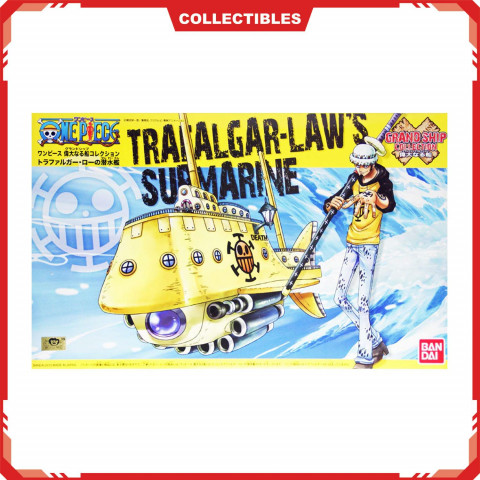 Bandai One Piece Grand Ship Collection Trafalgar Law Submarine