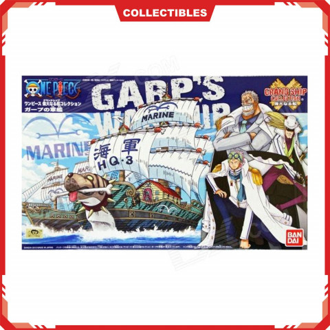 Bandai One Piece Grandship Collection Garp`s Warship