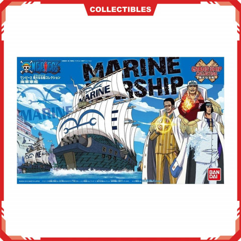 Bandai One Piece Grandship Collection Marine War Ship