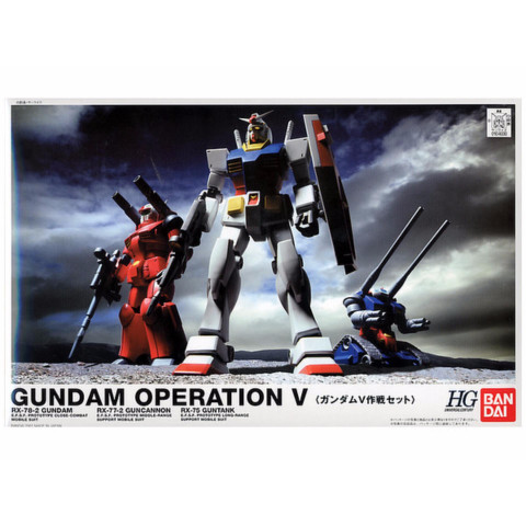GUNDAM - 1/144 HGUC GUNDAM OPERATION V SET