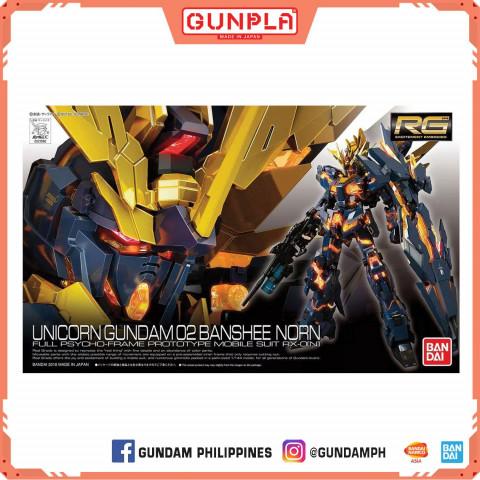 Gundam RG RX-0 Unicorn Gundam 02 Banshee Norn