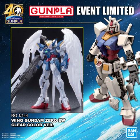 RG 1/144 Wing Gundam Zero EW Pearl Gloss Ver.