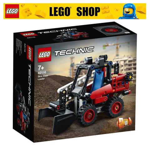 LEGO® Technic 42116 Skid Steer Loader, Age 7+, Building Blocks, 2021 (140pcs)
