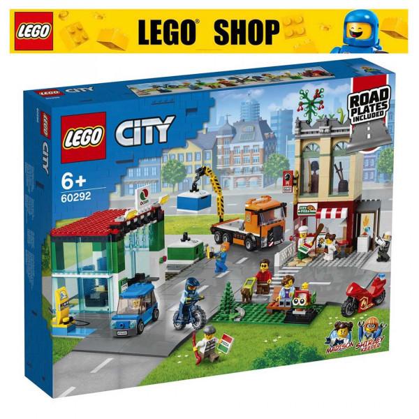 LEGO® CITY 60292 TOWN CENTER, AGE 6+, BUILDING BLOCKS ...