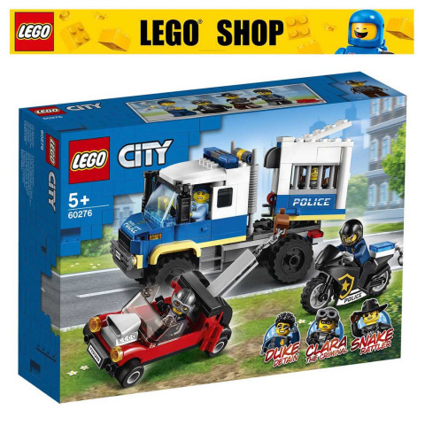LEGO® City 60276 Police Prisoner Transport, Age 5+, Building Blocks, 2021 (244pcs)