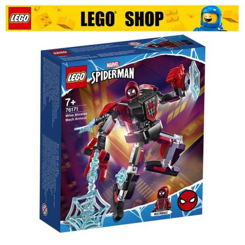 LEGO® Super Heroes 76171 Miles Morales Mech Armour, Age 7+, Building Blocks, 2021 (125pcs)