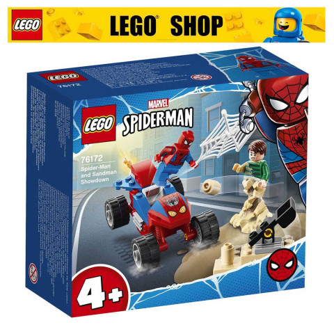 LEGO® Super Heroes 76172 Spider-man and Sandman Showdown, Age 4+, Building Blocks, 2021 (45pcs)