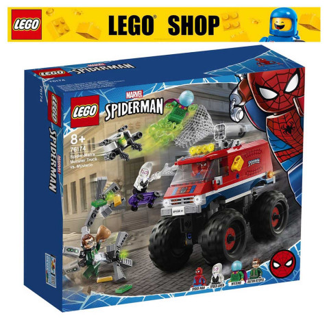 LEGO® Super Heroes 76174 Spider-man's Monster Truck Vs. Mysterio, Age 8+, Building Blocks, 2021 (439pcs)