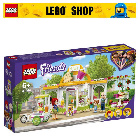 LEGO® Friends 41444 Heartlake City Organic Café, Age 6+, Building Blocks, 2021 (314pcs)