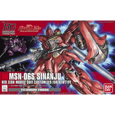 Gundam HGUC1/144 Sinanju Titanium Finish Ver.