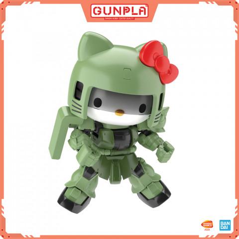 Gundam JP Hello Kitty/Zaku?[SD Gundam Cross Silhouette]