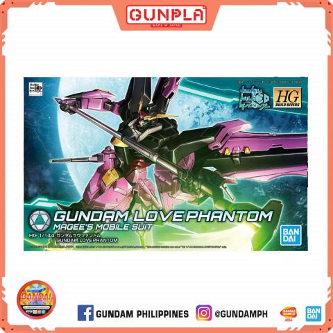 Gundam HG 1/144 Build Diver Gundam Love Phantom (GunPla)