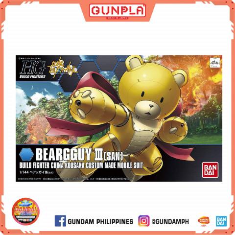 Gundam HG 1/144 Bearguy III (San) (GunPla)