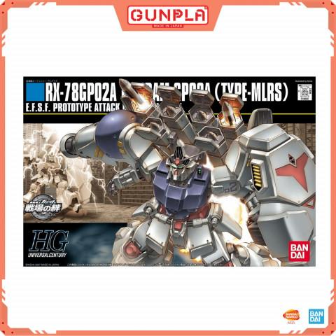 Gundam HG 1/144 RX-78 GP02A Gundam GP02A MLRS Type