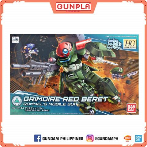Gundam HG 1/144 Grimoire Red Beret (GunPla)