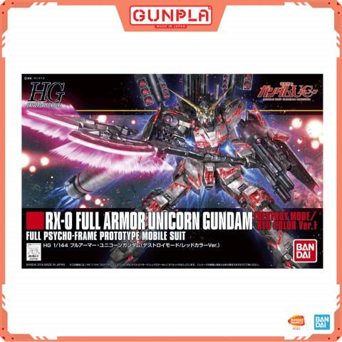 Gundam HG 1/144 RX-O Full Armor Unicorn Gundam (GunPla)