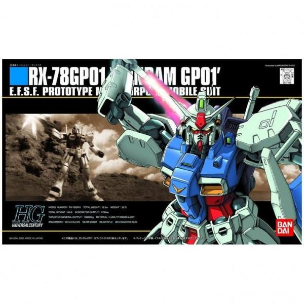 Gundam HG 1/144 GP01 Zephyranthes