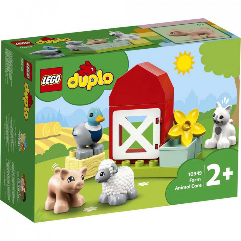 LEGO® Duplo 10949 Farm Animal Care, Age 2+, Building Blocks, 2021 (11pcs)