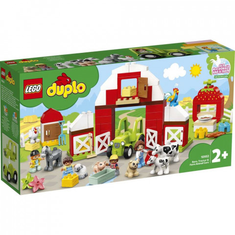 LEGO® Duplo 10952 Barn, Tractor & Farm Animal Care, Age 2+, Building Blocks, 2021 (97pcs)