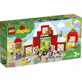 LEGO® Duplo 10952 Barn, Tractor & Farm Animal Care, Age 2+, Building Blocks, 2021 (97pcs)