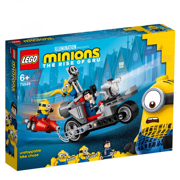 LEGO® 75549 Minions Unstoppable Bike Chase, Age 6+ Building Blocks, 2021 (506pcs)