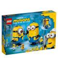LEGO® 75551 Minions Brick-Built Minions And Their Lair, Age 8+ Building Blocks, 2021 (136pcs)