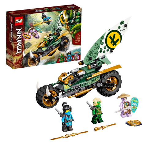 LEGO® 71745 Ninjago Lloyd'S Jungle Chopper Bike, Age 7+ Building Blocks, 2021 (327pcs)