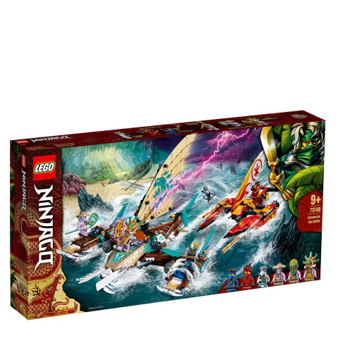 LEGO® 71748 Ninjago Catamaran Sea Battle, Age 9+ Building Blocks, 2021 (632pcs)
