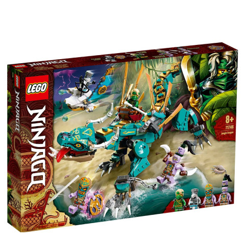 LEGO® 71746 Ninjago Jungle Dragon, Age 8+ Building Blocks, 2021 (183pcs)