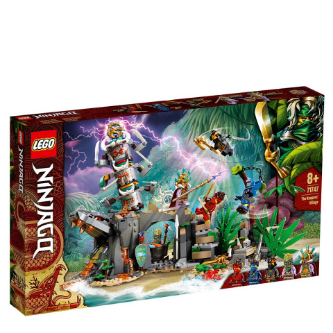 LEGO® 71747 Ninjago The Keepers' Village, Age 8+ Building Blocks, 2021 (106pcs)
