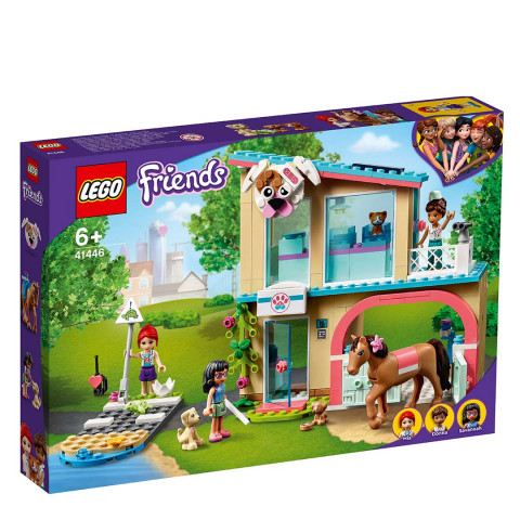 LEGO® 41446 Friends Heartlake City Vet Clinic, Age 6+ Building Blocks, 2021 (304pcs)