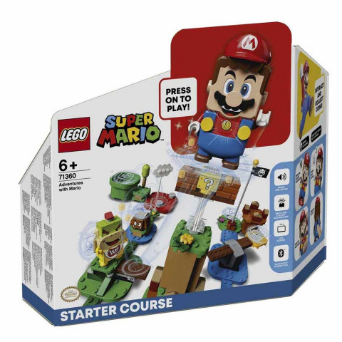 LEGO® Super Mario™ 71360 Adventures with Mario Starter Course, Age 6+, Building Blocks, 2020 (231pcs)
