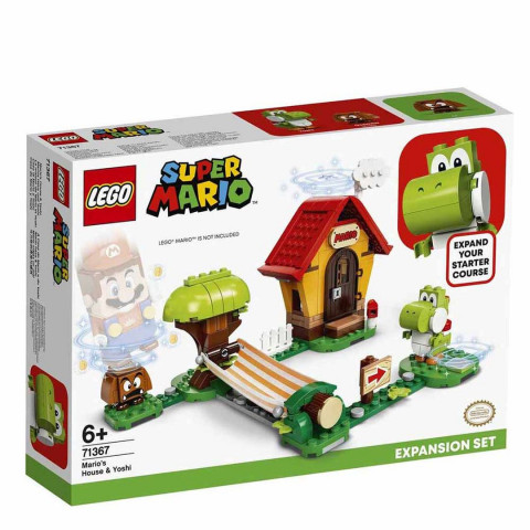 LEGO® Super Mario™ 71367 Mario's House & Yoshi Expansion Set, Age 6+, Building Blocks, 2020 (205pcs)
