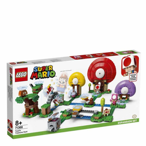 LEGO® Super Mario™ 71368 Toad's Treasure Hunt Expansion Set, Age 8+, Building Blocks, 2020 (464pcs)