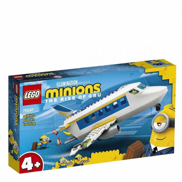 LEGO® Minions 75547 Minion Pilot in Training, Age 4+, Building Blocks, 2021 (119pcs)