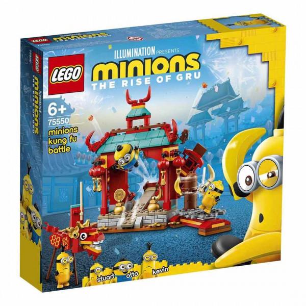 LEGO® Minions 75550 Minions Kung Fu Battle, Age 6+, Building Blocks, 2021 (310pcs)