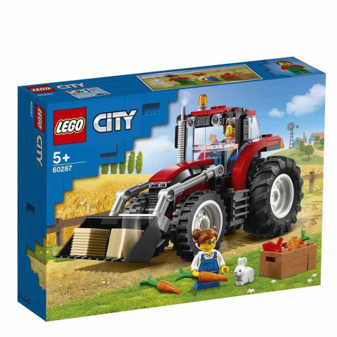LEGO® City 60287 Tractor, Age 5+, Building Blocks, 2020 (148pcs)