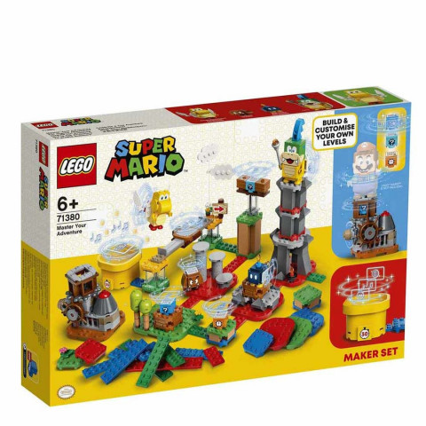 LEGO® Super Mario™ 71380 Master Your Adventure Maker Set, Age 6+, Building Blocks, 2021 (366pcs)