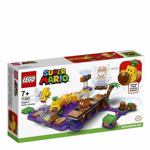 LEGO® Super Mario™ 71383 Wiggler's Poison Swamp Expansion Set, Age 7+, Building Blocks, 2021 (374pcs)
