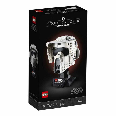 LEGO® Star Wars™ 75305 Scout Trooper™ Helmet, Age 18+, Building Blocks, 2021 (471pcs)