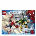 LEGO® Super Heroes 76198 Spider-Man & Doctor Octopus Mech Battle, Age 7+, Building Blocks, 2021 (305pcs)