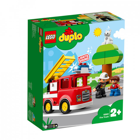 LEGO® DUPLO 10901 Fire Truck, Age 2+, Building Blocks, 2019 (24pcs)