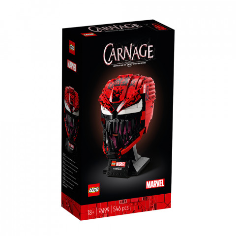 LEGO® Super Heroes 76199 Carnage, Age 18+, Building Blocks, 2021 (546pcs)