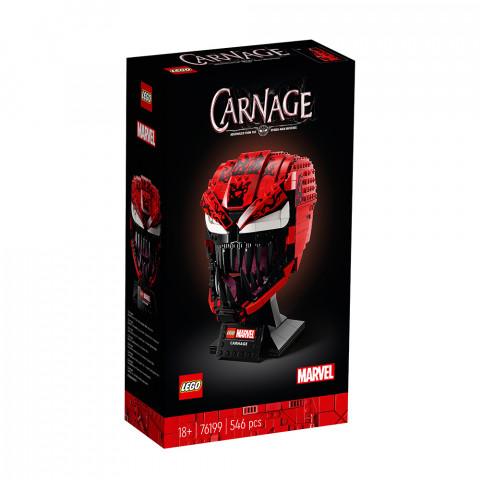 LEGO® Super Heroes 76199 Carnage, Age 18+, Building Blocks, 2021 (546pcs)