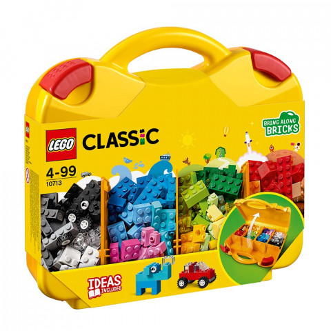 LEGO® Classic 10713 Creative Suitcase, Age 4-99, Building Blocks, 2018 (213pcs)