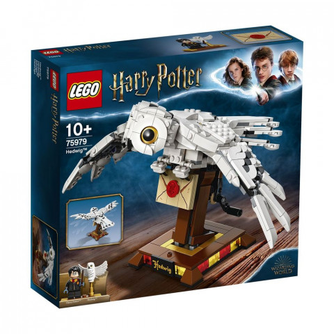 LEGO® Harry Potter™ 75979 Hedwig™, Age 10+, Building Blocks, 2020 (630pcs)